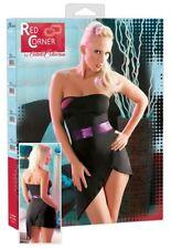Minivestito Sexy Sensuale RED CORNER Nude Cottelli Collection Taglia XS