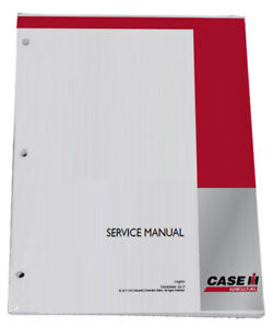 CASE IH 7100, 7110, 7120, 7130, 7140, 7150, 7200 Series Tractor Service Manual