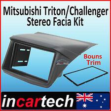 Mitsubishi Triton 06+ FACIA KIT fascia panel dash hood double-DIN installation