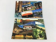 POSTCARDS - 2 AUSTRALIAN PACIFIC TOURS - BUS TOURS - W.A. & NORTHERN TERRITORY