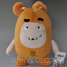 "TV Plush Stuffed Toys Oddbods 16"" Slick 40cm Soft Doll Genuine Big"