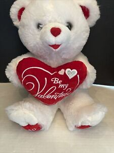 "2018 Dandee Brown Sweetheart Teddy Bear Plush ""Happy Valentines Day"" 20"""