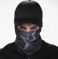 Watch Dogs 2 CAP Hat Face MASK Aiden Pearce Prop Cosplay Costume
