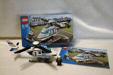 LEGO City Polizei-Hubschrauber (7741), komplett, mit Bauanleitung und OVP!