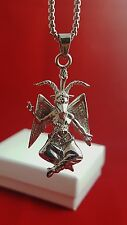 Church of Satan - Pagan BAPHOMET Pendant Necklace  Stainless Steel
