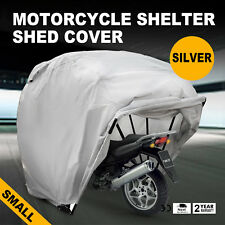 Motorcycle Shelter Storage Cover Tent Garage Outdoor Junior No Seam Waterproof