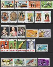 Antigua Collection - 24 All Different MNH, Sc #122-24 - cw71.98
