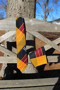 Kente Necktie and  handkerchief set - Style #3