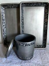 Astonishing India Ink Silver Bath Accessory Sets For Sale Ebay Download Free Architecture Designs Scobabritishbridgeorg
