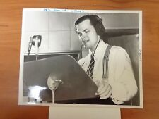 Vintage Glossy Press Photo Actor Orson Weller War Of The World Citizen Kane #9