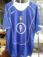 NWT Authentic Nike 2006 Brazil Ronaldo Away Jersey Real Madrid