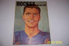 1959 Hockey Blueline NEW YORK RANGERS Andy BATHGATE Montreal ROCKET RICHARD AHL