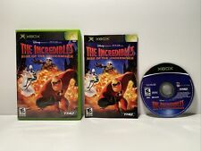 Microsoft Xbox (Original) Video Game : The Incredibles: Rise Of The Underminer