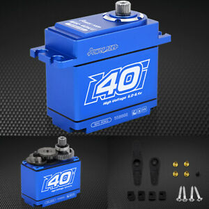 POWER HD WH-40KG Waterproof 555.5 oz / .17 Titanium Gear Digital Servo