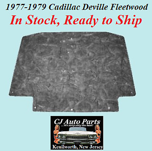 NEW 1977-1979 CADILLAC DEVILLE FLEETWOOD BROUGHAM HOOD INSULATION PAD