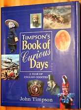 Timpson's Book Of Curious Days Hardcover Sleeve Unread Order 1996 1st Great Gift