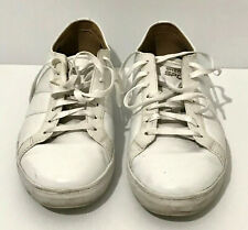 Sketchers Sport Air-Cooled Memory Foam White Leather Men's Shoes Size US 9
