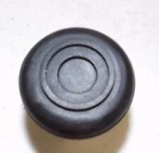 """Round Black Rubber Slip On Furniture Chair Leg Protective Tip Cane Tip 1"""", 25 mm"""