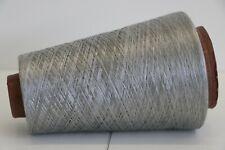 K06 250g 100% REINE SEIDE / PURE SILK KALTES SILBER (15) Wolle Lace