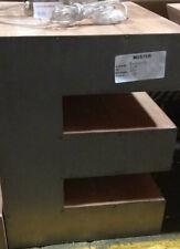 MIAVILLA Couchtisch Holz Metall in Form eines E Neu SALE