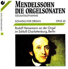 Felix Mendelssohn-Bartholdy (1809-1847) • Sonatas for Organ opus 65 CD