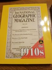 The National Geographic Magazine Cd Rom 1888-1909, 1910's 1920's Education Resea