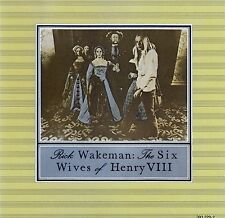 RICK WAKEMAN : THE SIX WIVES OF HENRY VIII / CD (A&M RECORDS 393 229-2)