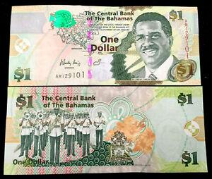 BAHAMAS 1 Dollar Year 2015 Banknote World Paper Money UNC
