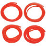 4pcs Fuel Gas Line Pipe Hose For Trimmer Chainsaw Blower 2mm 2.5mm/3mm