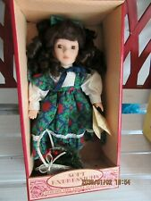 Barbara Collins Soft Expressions Holiday Doll/ Great Christmas Gift!