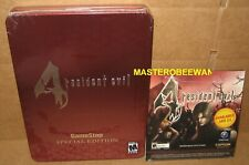 Resident Evil 4 Special Collector's Tin Edition + Bonus CD GameCube GC Wii New
