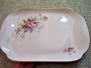 Adderley England porcelain oval plate-dish,Floral