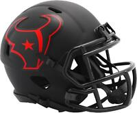 Riddell Houston Texans Eclipse Alternate Revolution Speed Mini Football Helmet