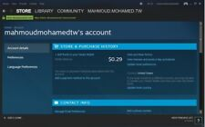 Steam Account (GTA.VC- Counter Strike GO - Commandos 2 and 3)
