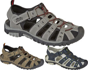 Mens Summer Sport Adventure Sandals Closed Toe Walking Trail Beach Holiday Shoes