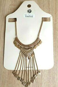 Krishna Beads Industries Necklace New Boho Heart Droplet Tribal Indian Jewellery