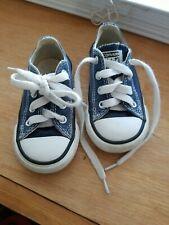 CONVERSE ALL STAR Shoes Unisex's TODDLER ,Blue Color size 5(11.5cm)