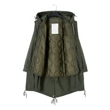 M51 Fishtail Hooded Parka Jacket Coat With  Quilted Liner