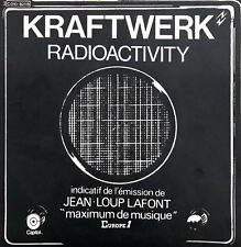 "Kraftwerk 7"" Radioactivity - France (EX/EX)"
