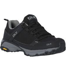 DLX Magellan Mens Viberum Outdoor Walking Hiking Trainers Shoes - Black