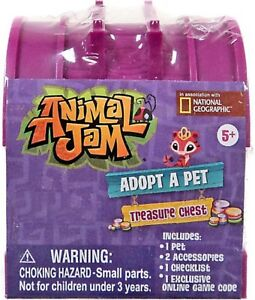 Animal Jam Adopt A Pet Treasure Chest Exclusive Mystery Pack [Random Color]