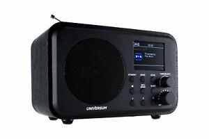 DAB Digitalradio, UKW Radio,  mit Bluetooth und Akku UNIVERSUM DR 300-20
