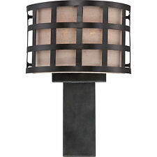 "Quoizel CKMS8801TM - Marisol Wall Sconce 2-Light 16""H Teco Marrone"