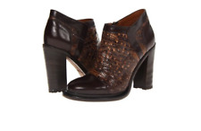 $395 UGG Collection Giacinta Leather Shoes in Cafe Expresso 6.5 / 7 US
