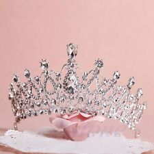Wedding Bridal Princess Crystal Tiara Prom Hair Crown Veil Attractive Headband