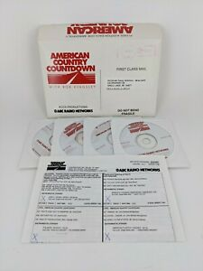 RARE American Country Countdown w/ Bob Kingsley Radio Shows from 1997 on 4 CDs!