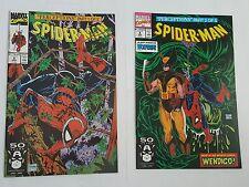 spiderman # 8,9 , 1991 mcfarlane