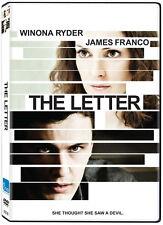 The Letter (DVD) Winona Ryder, James Franco NEW