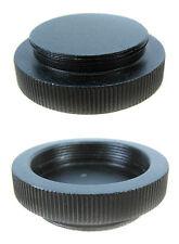 Metal C Mount Body Cap Rear Lens Cap for Bolex Eclair Movie Camera