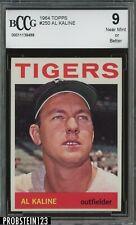 1964 Topps #250 Al Kaline Detroit Tigers HOF BCCG 9